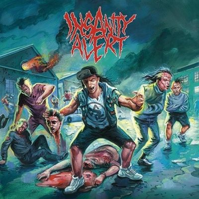 Insanity Alert - Self Titled CD