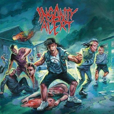 Insanity Alert - Self Titled CD